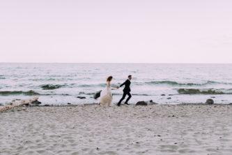 Kasia i Mateusz – plener nad Bałtykiem