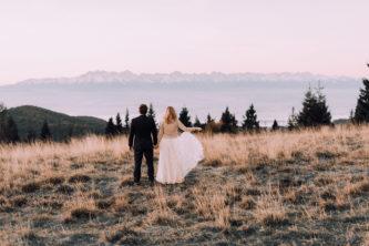 Ania i Filip – górski plener na Turbaczu